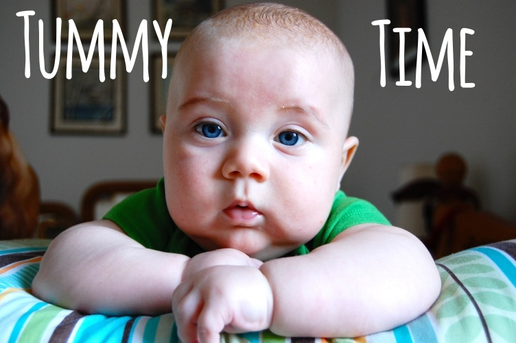 how to help baby tummy time