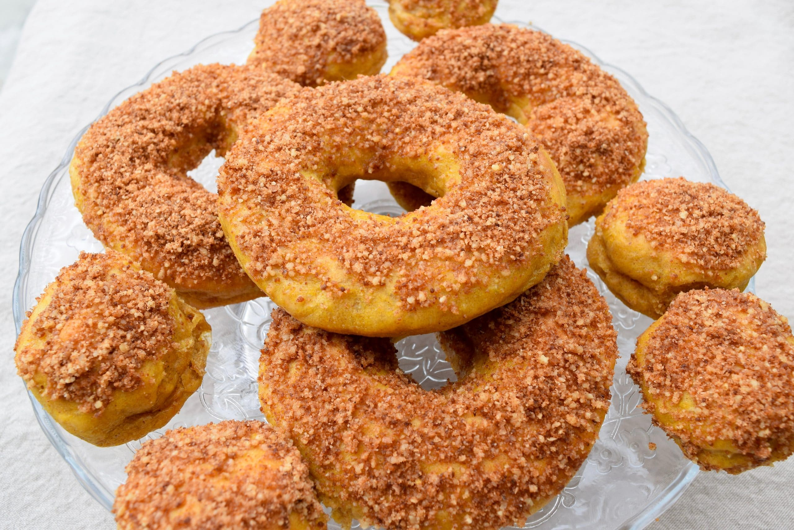 Walnut Crusted Butternut Squash Donuts Earth Powered Family