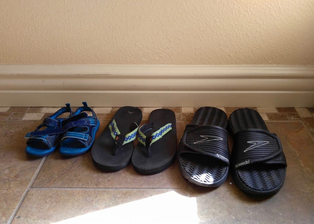 Before Kids, My Husband And I Usually Walked Through The House With Our  Shoes On. We Didnu0027t Really Have A Good Spot To Put Them Since Our Previous  Home Had ...